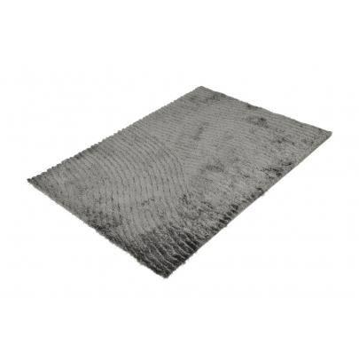 Tapis shaggy griffe gris et noir polyester 140 200cm - Tapis shaggy gris 200x290 ...