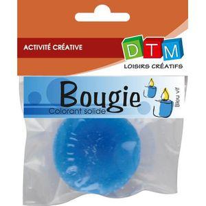 colorant bougie colorant solide pour bougie 20 g bleu dtm - Colorant Pour Bougie