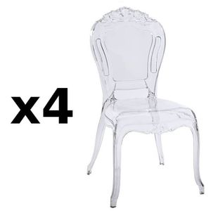 Chaise polycarbonate achat vente chaise polycarbonate - Chaises design en soldes ...