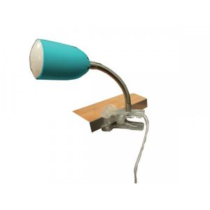 LAMPE A POSER LAMPE PINCE METAL TURQUOISE
