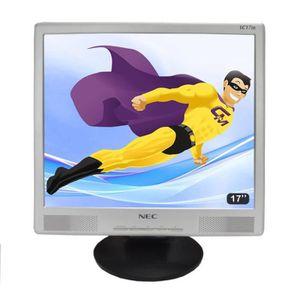 """UNITÉ CENTRALE + ÉCRAN Ecran Plat PC 17"""" LCD NEC 700P LC17M 1280x1024 43c"""