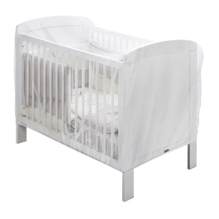 thermobaby moustiquaire universelle lit b b blanc achat vente moustiquaire lit b b. Black Bedroom Furniture Sets. Home Design Ideas
