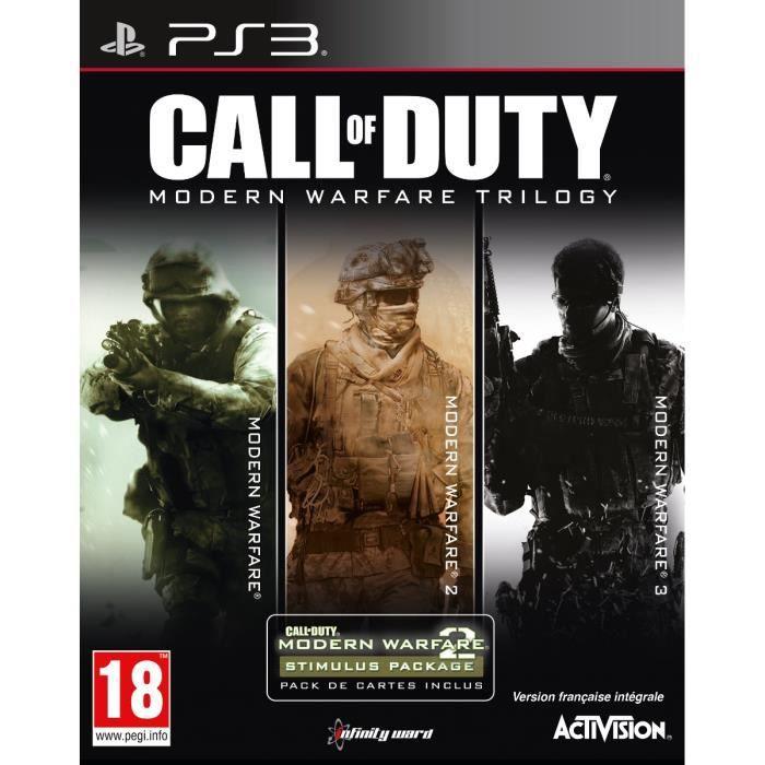 call of duty modern warfare trilogy jeu ps3 achat vente jeu ps3 nouveaut cod modern warfare. Black Bedroom Furniture Sets. Home Design Ideas