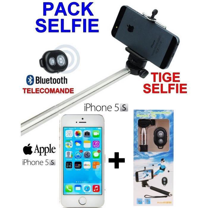 apple iphone 5s silver tige selfie telecommande achat smartphone pas cher avis et meilleur. Black Bedroom Furniture Sets. Home Design Ideas