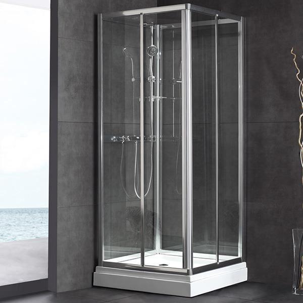 cabine de douche int grale lona 80 80 cm achat vente. Black Bedroom Furniture Sets. Home Design Ideas