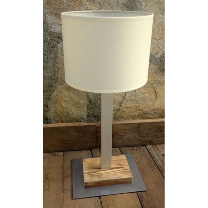 Lampe alu 60w grande taille boutica design achat - Lampe a poser grande taille ...