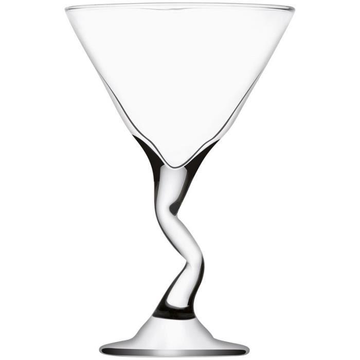 6 verres cocktail z stem 27 cl achat vente verre. Black Bedroom Furniture Sets. Home Design Ideas