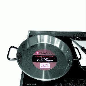 poele a paella acier poli pour induction 30 cm achat vente plat 224 pa 235 lla poele a paella