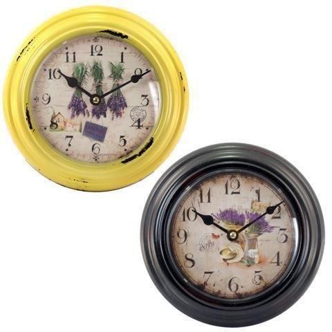 Horloge murale x2 cuisine 20 cm achat vente horloge - Horloge murale cuisine ...