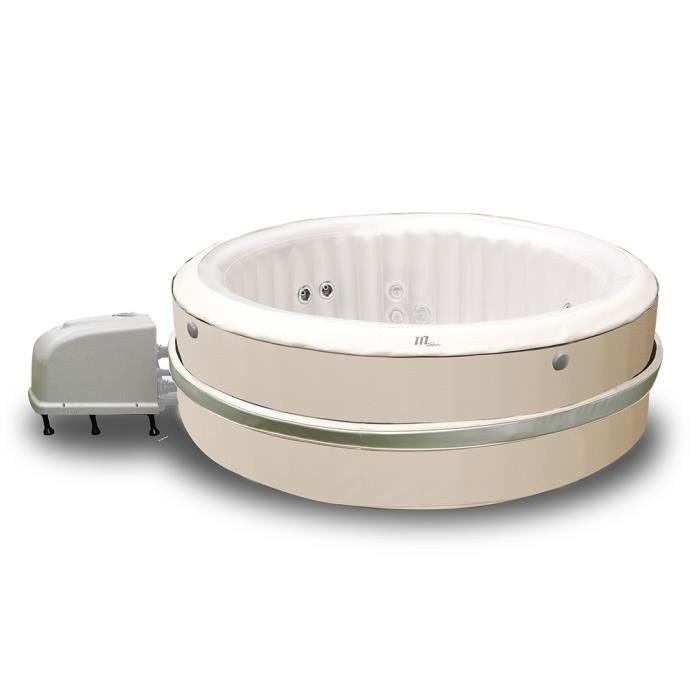 Jacuzzi gonflable m spa birkin hydrojets 6 places achat vente spa complet - Jacuzzi gonflable brico ...