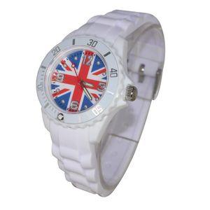 Montre enfant ado london drapeau anglais union jack for Poignet de porte en anglais