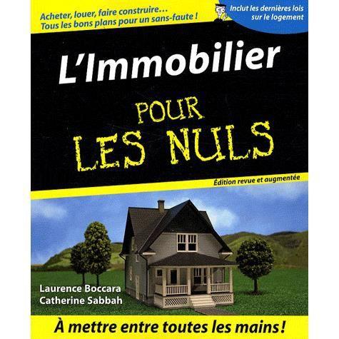 L 39 immobilier pour les nuls 2e edition achat vente livre laurence bocc - Le tarot pour les nuls ...