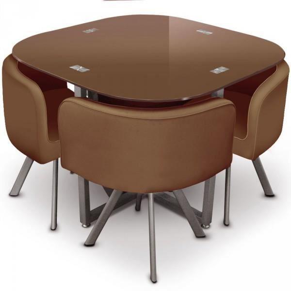 Ensemble table et 4 chaises de salle a manger i achat vente table ma - Ensemble table chaise salle a manger ...