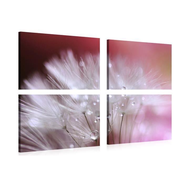 Tableau sur toile artistic dandelion 150x100cm achat for Tableau impression sur toile