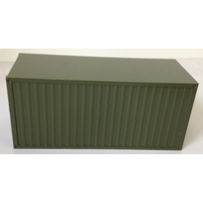 Container maritime 20 pieds militaire con99928 02 for Achat container maritime