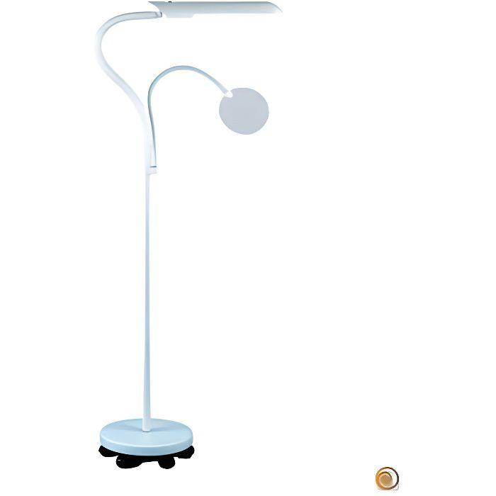lampe daylight sur pied roulette e23030 achat vente lampe daylight sur pied r cdiscount. Black Bedroom Furniture Sets. Home Design Ideas