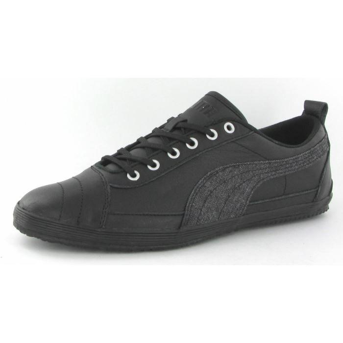 chaussures puma serve pro leathe homme noir achat vente serve pro leather lc homme pas. Black Bedroom Furniture Sets. Home Design Ideas
