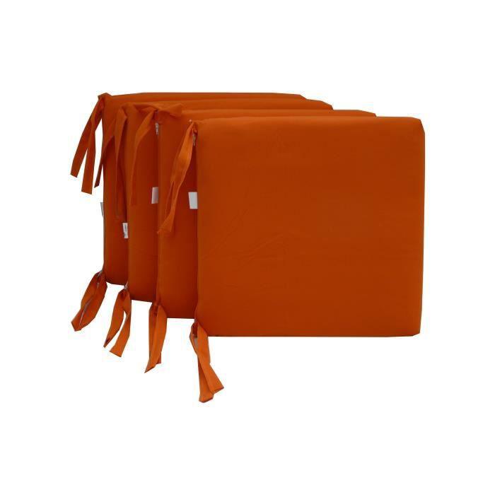 coussin de chaise d 233 houssable 14 coloris disp achat vente coussin de chaise cdiscount