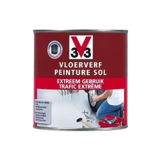 V33 peinture sol trafic extreme gris clair sat achat for Peinture sol parquet