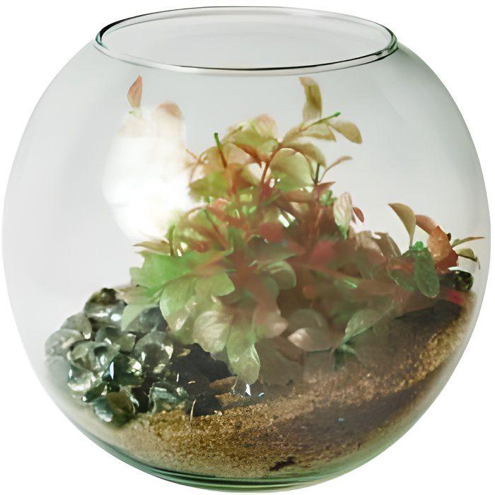 Aquarium zolux en forme de boule souffl e mod l achat for Aquarium petit prix
