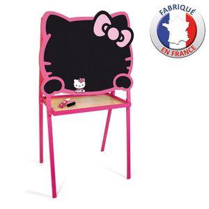 TABLEAU ENFANT Tableau Créatif Hello Kitty Craie + Feutre