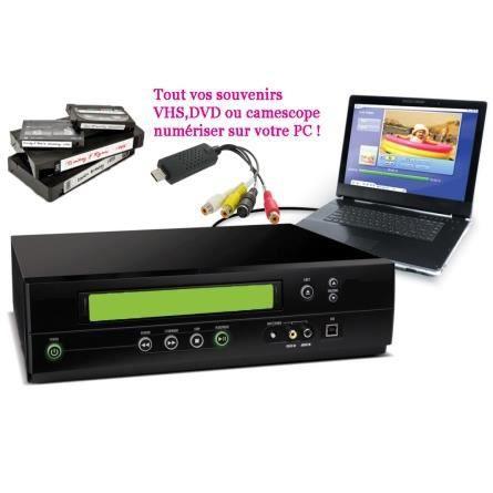 high tech accessoires convertisseur vhs k dvd f  auc