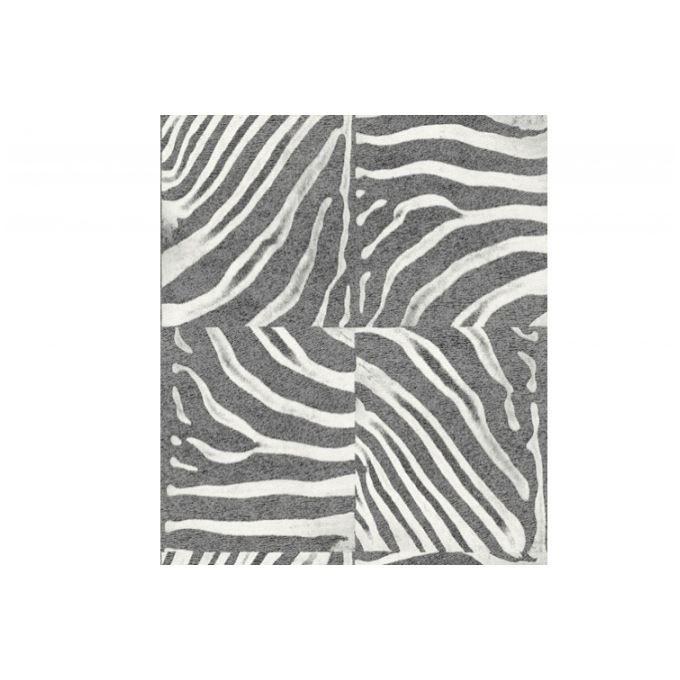 papier peint blanc et gris z bre achat vente papier peint cdiscount. Black Bedroom Furniture Sets. Home Design Ideas