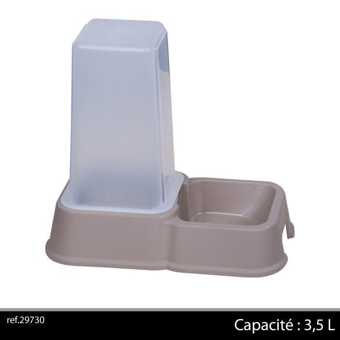 distributeur automatique de croquettes 3 5 l achat vente distributeur fontaine. Black Bedroom Furniture Sets. Home Design Ideas