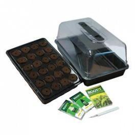Kit mini serre rootit 24 boutures achat vente kit de culture kit mini ser - Serres adossees en kit ...