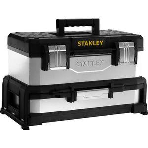 STANLEY Boite ? outils ? tiroir galvanisée 51cm vide
