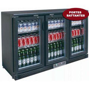 BUFFET RÉFRIGÉRÉ  Arrière Bar vitré - Portes battantes