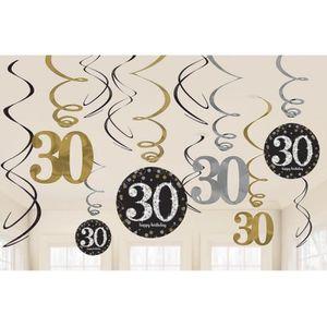 Decoration anniversaire 30ans achat vente decoration for Decoration 30 ans