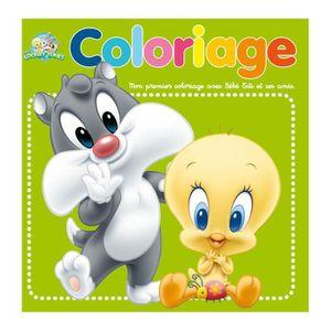Coloriage b b titi achat vente livre de coloriage cdiscount - Coloriage titi ...