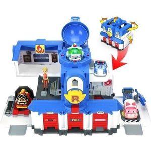 Garage robocar poli achat vente jeux et jouets pas chers for Garage dallan les cheres