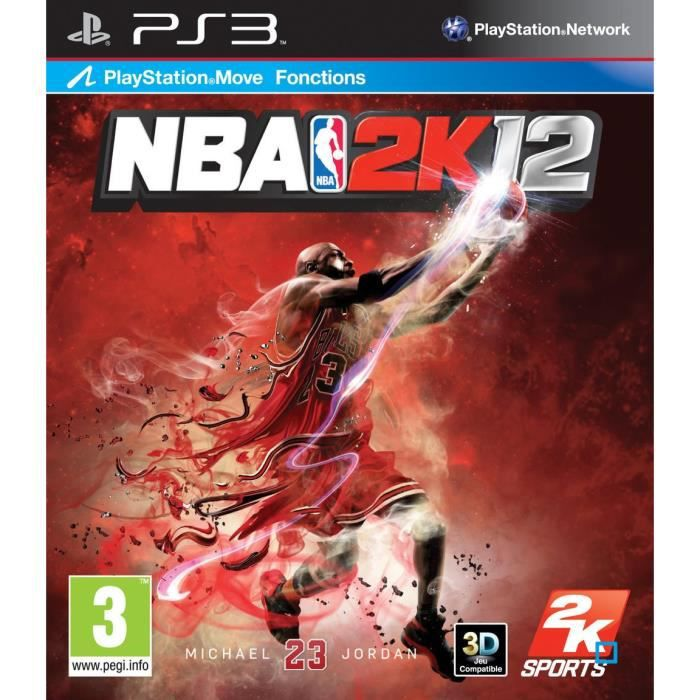 JEU PS3 NBA 2K12 / Jeu console PS3