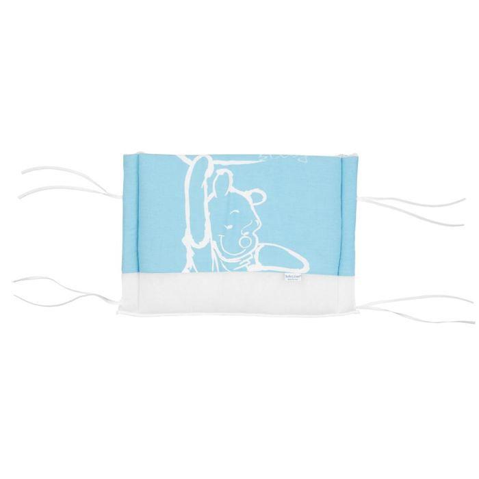 anel tour de lit winnie l 39 ourson b b bleu blanc achat. Black Bedroom Furniture Sets. Home Design Ideas