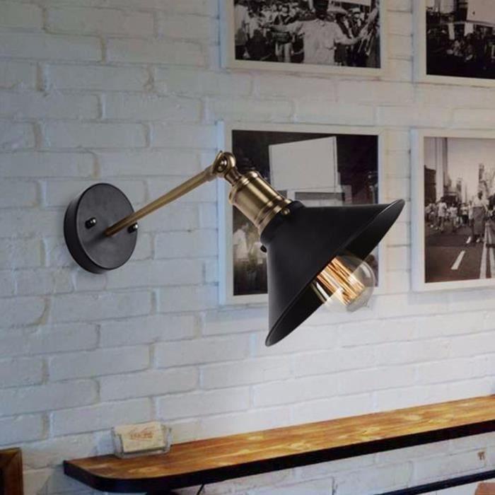 applique salle de bain industrielle applique loft achat vente pas cher cdiscount - Appliques Vintage Industrielles Pour Salle De Bain