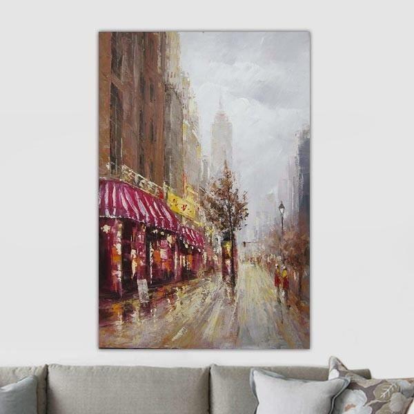 Peinture contemporaine new york achat vente tableau - Tableau toile new york ...