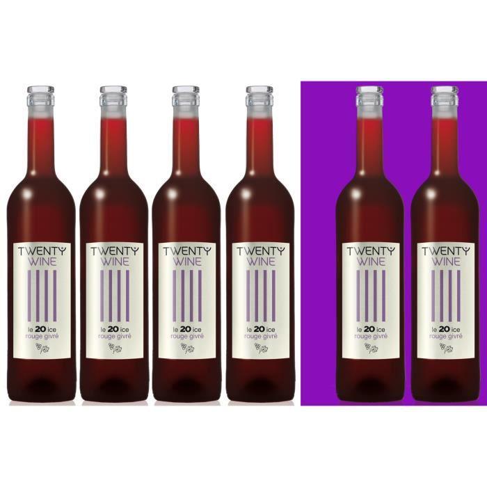 twenty wine vin rouge givr 75 cl aop bergerac achat vente vin rouge twenty wine vin. Black Bedroom Furniture Sets. Home Design Ideas