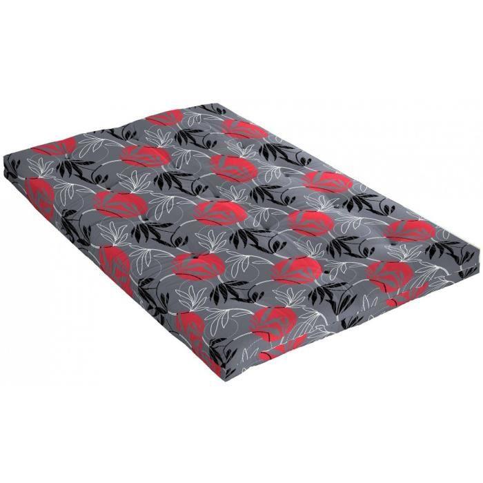 Matelas futon cyclade en coton 90x190 achat vente futon cdiscount - Matelas futon 90x190 ...