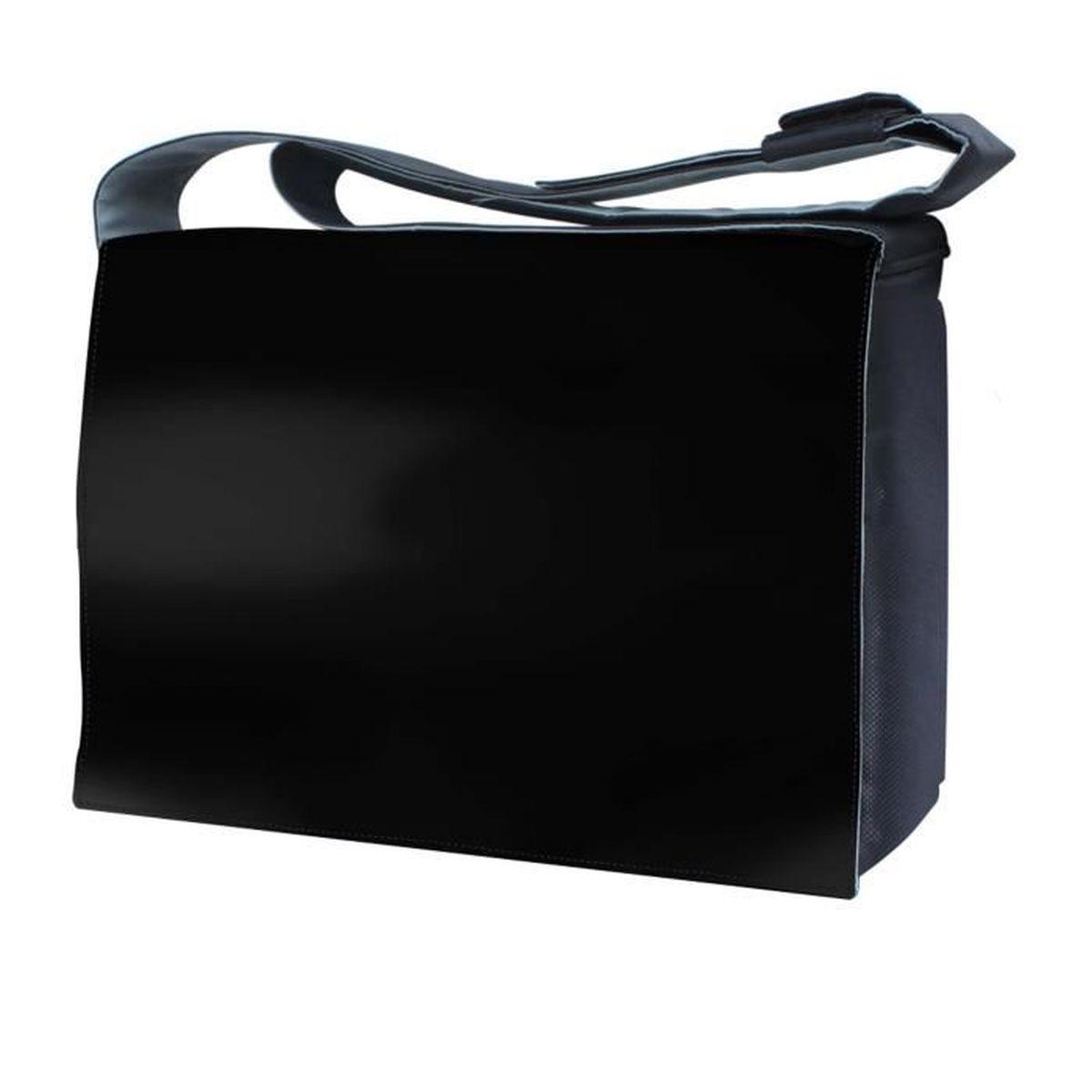 luxburg 17 pouces sac de messager badouli re de luxe pour ordinateur portable noir achat. Black Bedroom Furniture Sets. Home Design Ideas