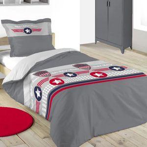 housse de couette usa 200x200 achat vente housse de. Black Bedroom Furniture Sets. Home Design Ideas