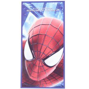 SERVIETTE DE PLAGE Spiderman Serviette de plage Garçon The Amazing Sp