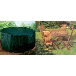 housse pour salon de jardin rond achat vente housse. Black Bedroom Furniture Sets. Home Design Ideas