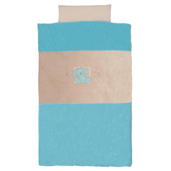 Housse de couette turquoise achat vente couverture for Housse couette turquoise