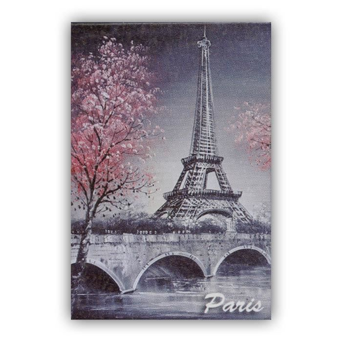 magnet paris peinture de la tour eiffel portrait souvenirs de paris achat vente aimants. Black Bedroom Furniture Sets. Home Design Ideas