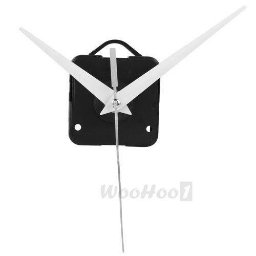 mouvement mecanisme d 39 horloge quartz 3 aiguilles blanc 1x. Black Bedroom Furniture Sets. Home Design Ideas