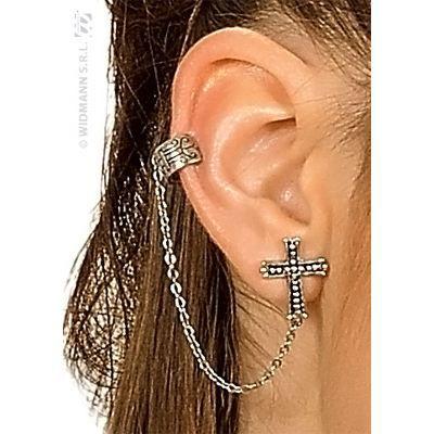 Boucle d 39 oreille croix achat vente bijoux d guisement - Boite a bijoux boucle d oreille ...