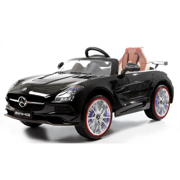mercedes sls amg noir m tallis voiture lectrique pour. Black Bedroom Furniture Sets. Home Design Ideas
