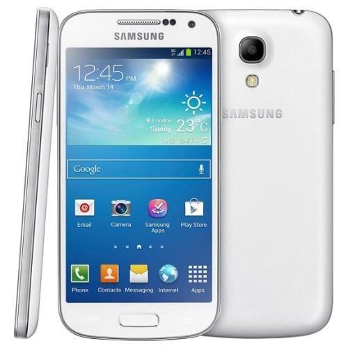 galaxy s4 mini blanc achat t l phone portable pas cher. Black Bedroom Furniture Sets. Home Design Ideas